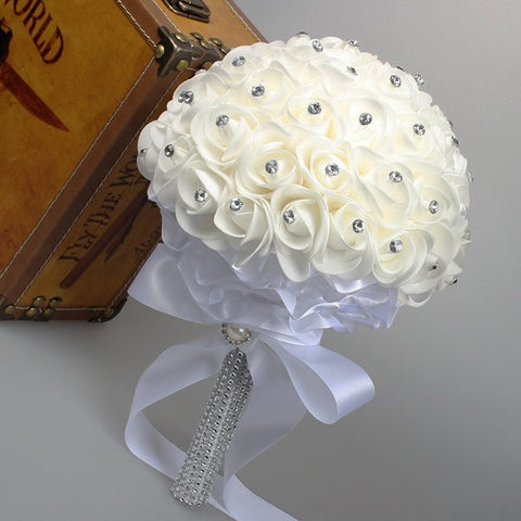 Artificial rose flowers for the wedding accessories D47