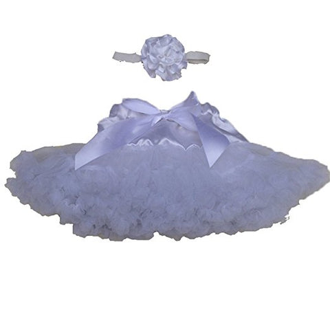 Baby girls dance tutu dresses with headdress flower S60
