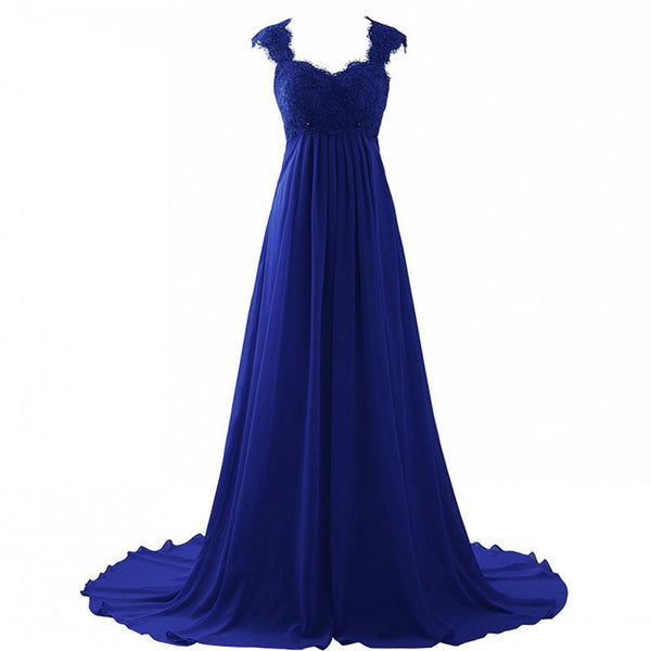 Chiffon A-line evening dresses lace up back formal dress for sale –  CCoutueChen c3a718d9c