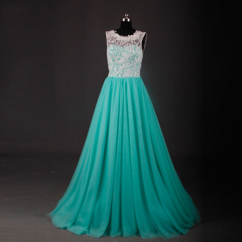 Puffy tulle mint green ball gown floor length dress for sale ...