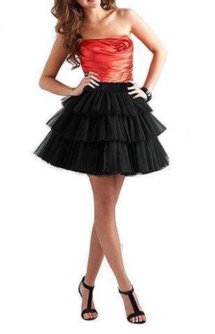 Tulle tutu skirts cake short skirt for women S125