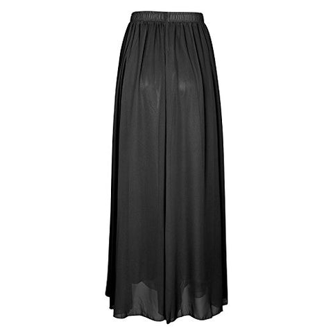 Women's elegant chiffon skirt summer long boho skirt A-lines S23