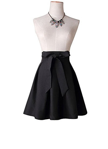 Women's short skirt with bowknot pleated skirt for spring summer S25