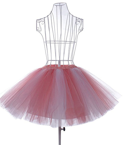 Women's vintage tutu petticoat bubble short skirt S132