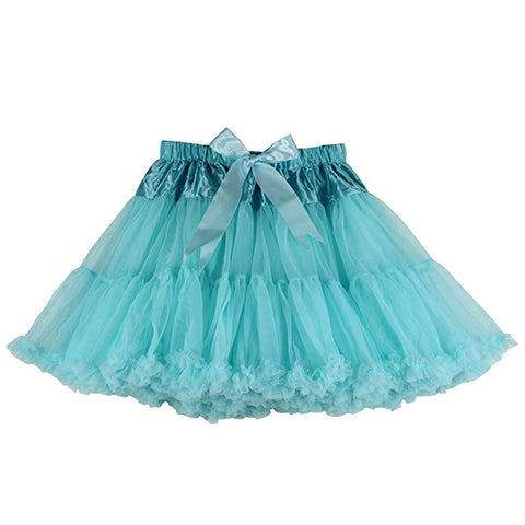 Womens short tulle tutu skirt for ballet dance S122
