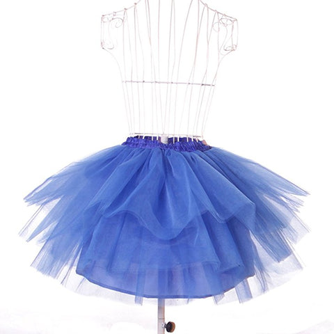 Womens tutu short skirts frilly petticoat S131