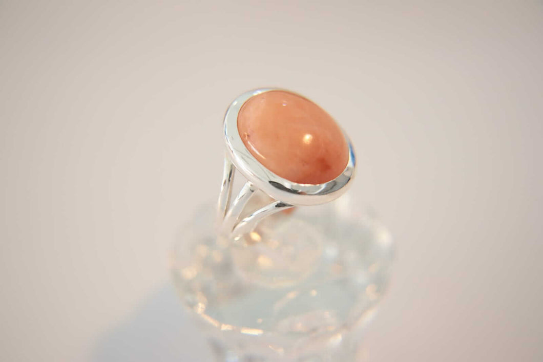 Hussaini Quartz Silver Ring