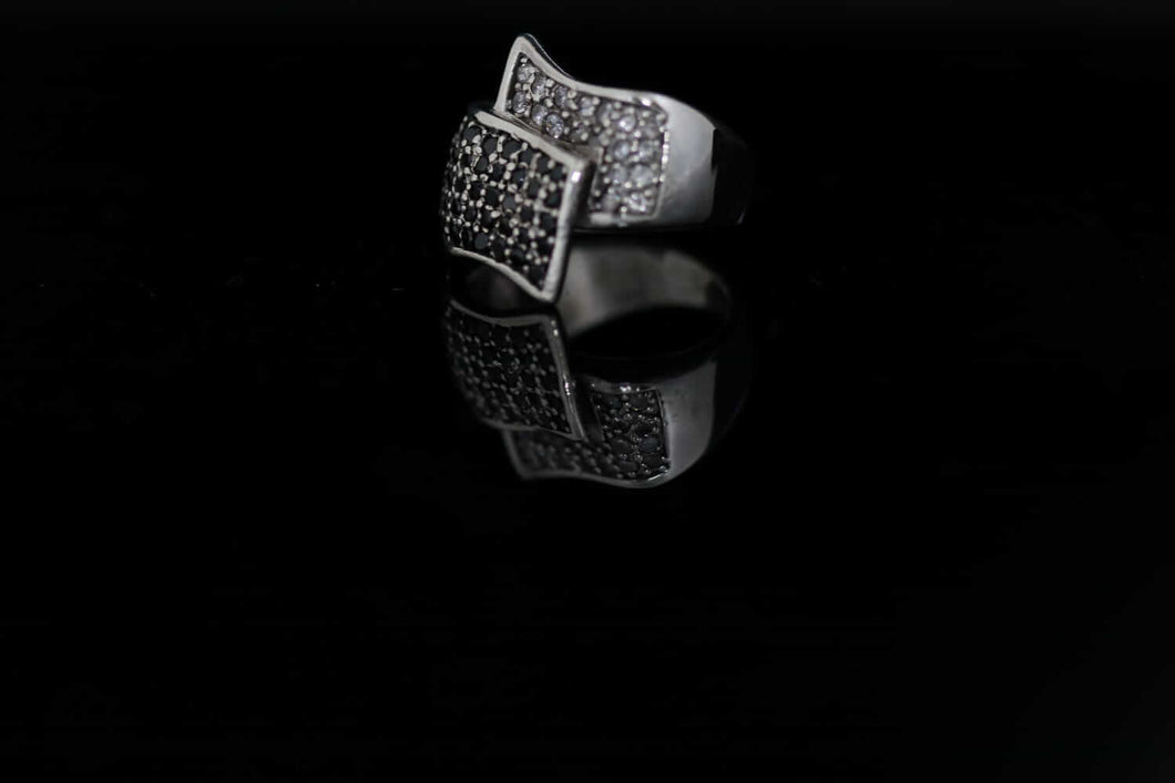 Women's Cubic Zircon Silver Ring