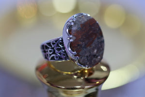 Durr Najaf Silver Ring