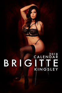 2018 Brigitte Kingsley Calendar Digital Download
