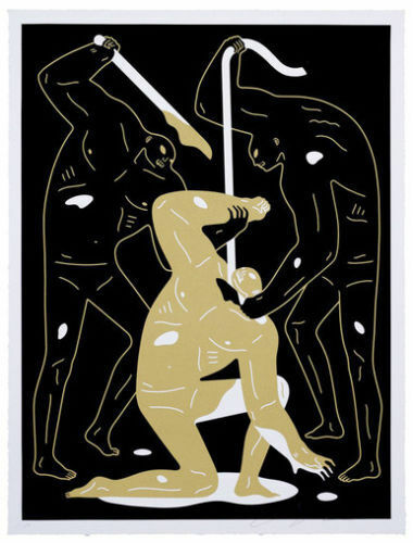 "Vengeance to Take by Cleon Peterson, 18"" x 24"", Screen Print"