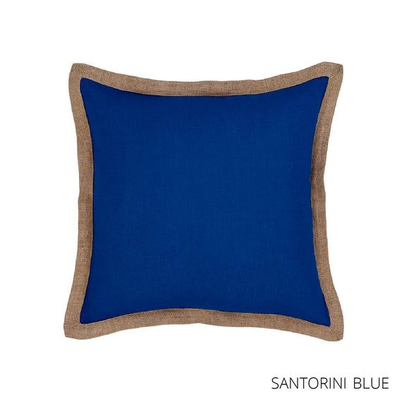 Hampton Cushion 50x50cm Santorini Blue