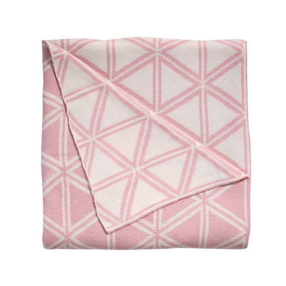 Wellington Throw 125x150cm - Dusty Pink