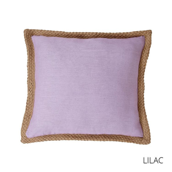 Mornington Linen Cushion - Lilac