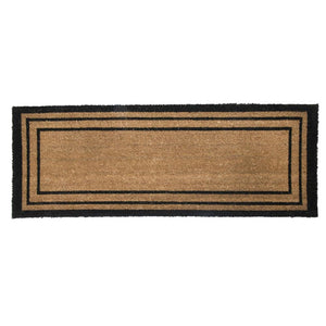 PVC Backed Coir Printed Mat Ranchslider 40x120cm Rectangular Lines