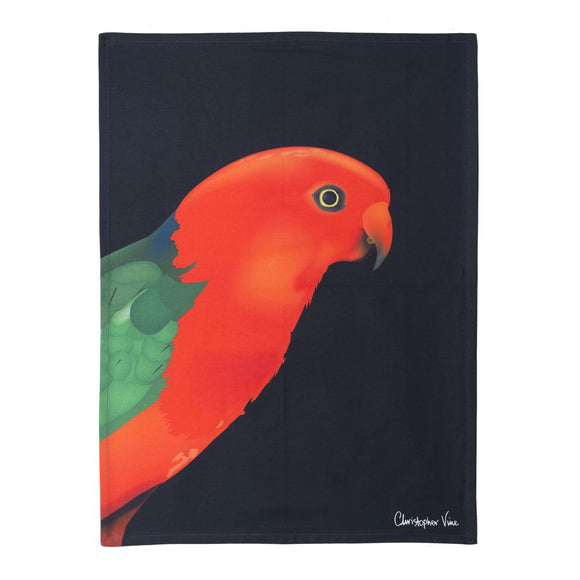 CVD - King Parrot Tea Towel 50x70cm Multi