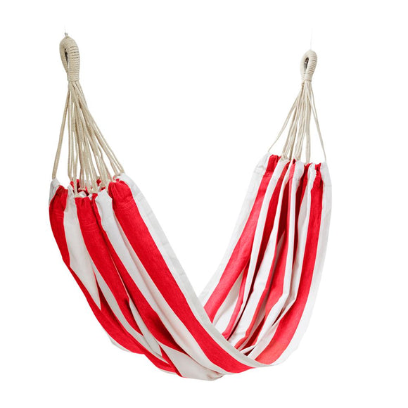 Stripe Hammock Red