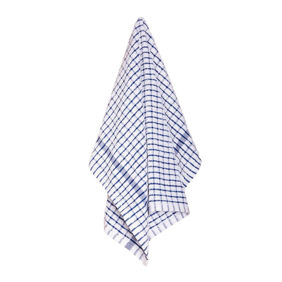 Elly 2 Pack Tea Towels 45x65cm Blue