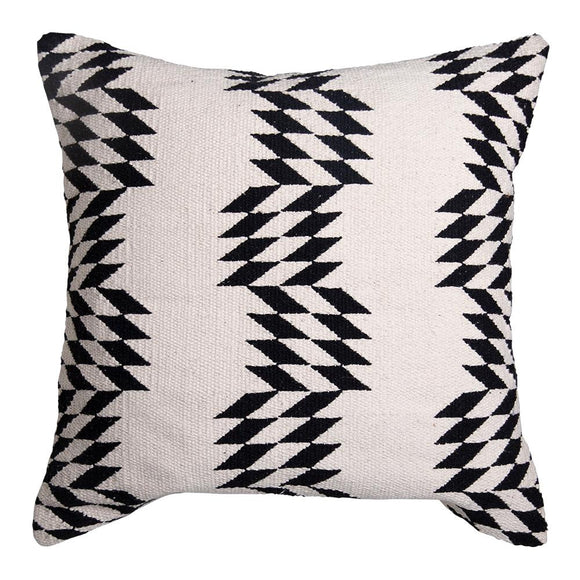 Caleta Cushion 50x50cm Natural/Black