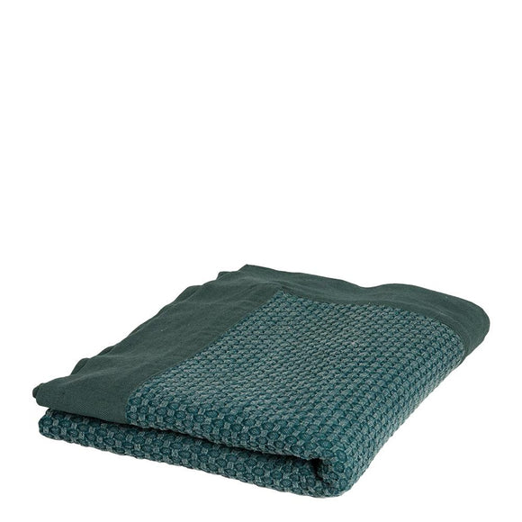 Taylor Jacquard Throw 125x150cm Eden Green