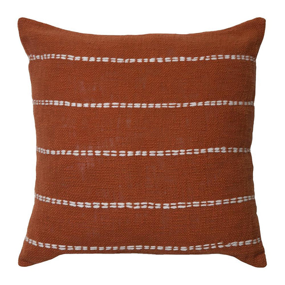 Sutton Cushion 50x50cm Burnt Orange; ETA Mid December