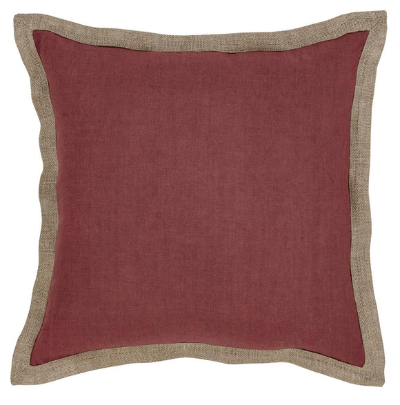 Hampton Cushion 50x50cm Red