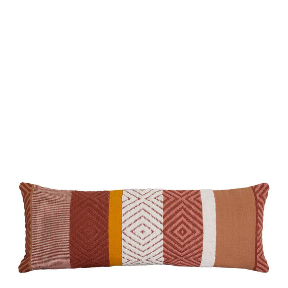 Almeria Cushion 35x90cm Red Multi; ETA Mid December