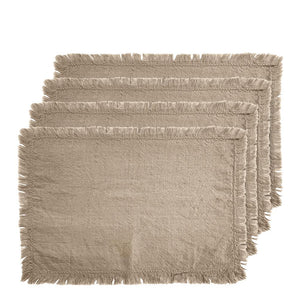 Avani Set of 4 Placemats 33x48cm Linen