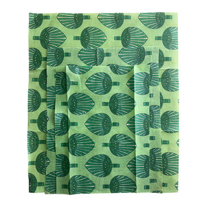 Lemonade Karma: Beeswax Set of 3 - Dark Green