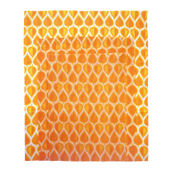 Lemonade Karma: Beeswax Set of 3 - Orange