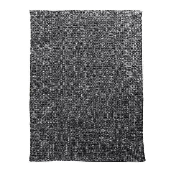 Brinley Stonewashed Cotton Rug 160x230cm Charcoal