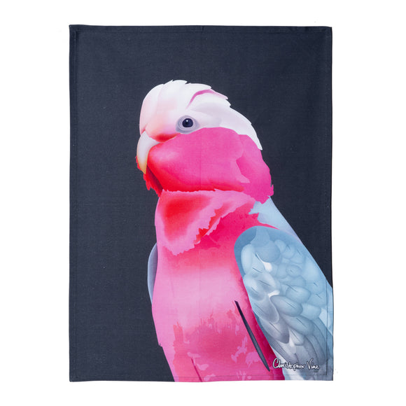 CVD-King Parrot Tea Towel