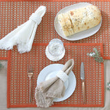 Juno Set of 4 Placemats 33x48cm Bombay Brown; ETA December