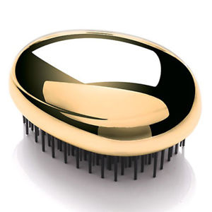 KENT PEBBLE HAIR BRUSH GOLD