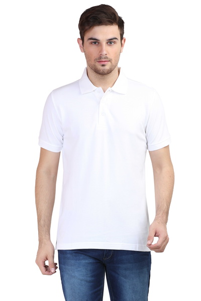 Men's Polo T-shirt White