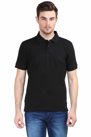 Men's Polo T-shirt Black