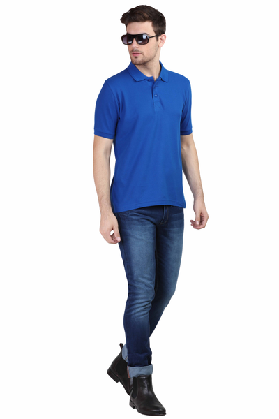 Men's Polo T-shirt Royal Blue