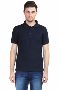 Men's Polo T-shirt Navy Blue