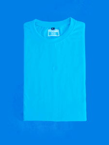 Blue half sleeve t shirt