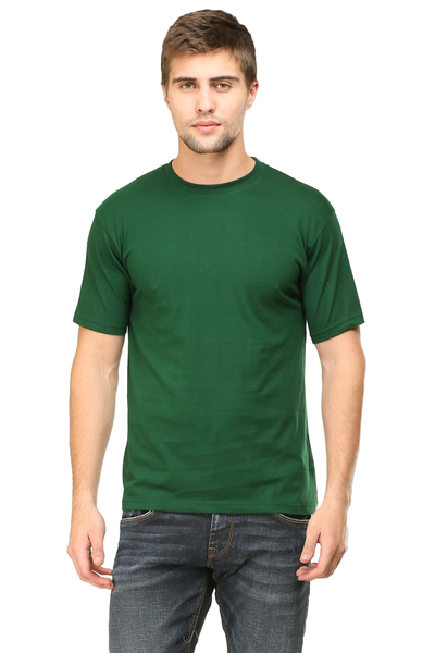 Buy Mens round neck half sleeves tshirt online