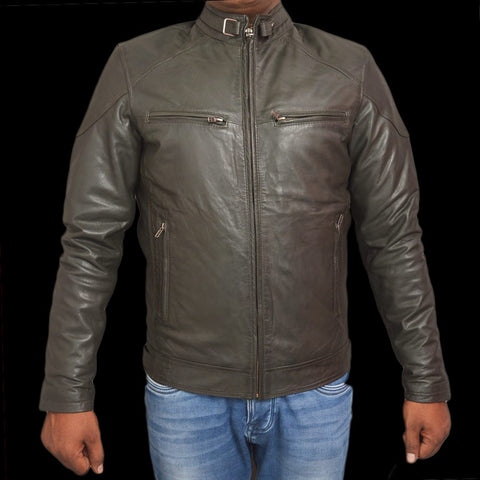 T1trendze Leather Jacket