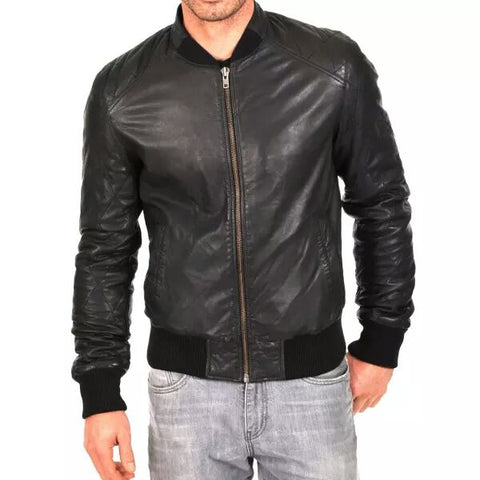 T1trendze Leather Jacket LJ15