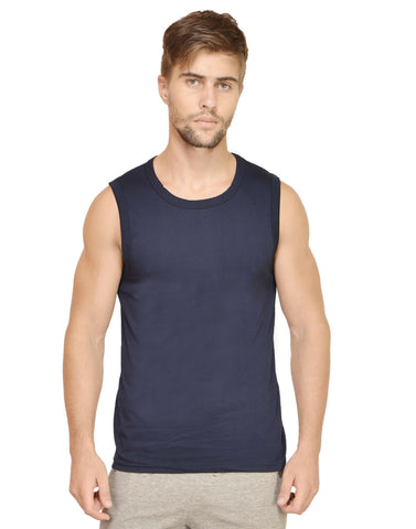 Men's Gym Vest Navy Blue
