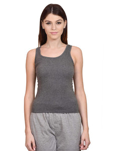 Women's Tank top Charcoal Melange