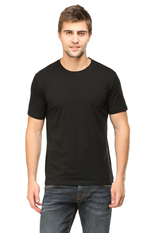black color t shirts online shopping