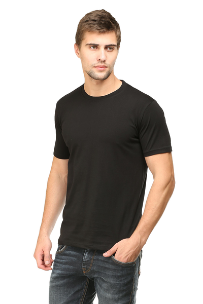 black tshirt for mens