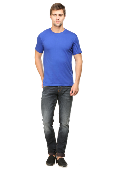 blue colour t shirt