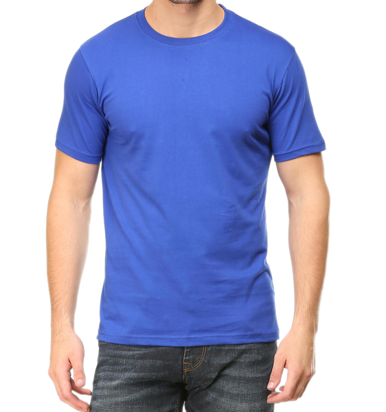 blue t shirt mens