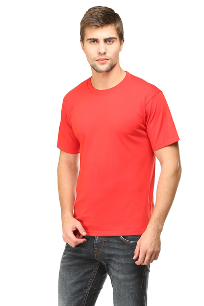 mens red tshirt