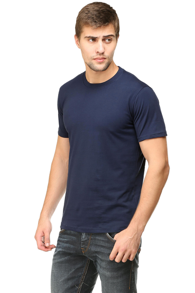navy blue colour t shirt